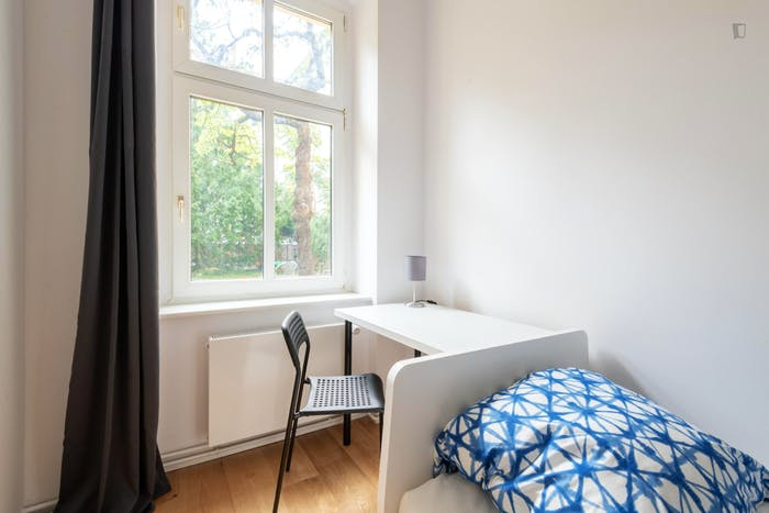 Welcoming single bedroom in Oberschöneweide  - Gallery -  5