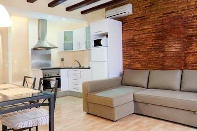 High-quality 2-bedroom flat not far from ELISAVA Escuela Superior de Diseño e Ingeniería de Barcelona  - Gallery -  2