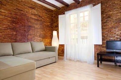 High-quality 2-bedroom flat not far from ELISAVA Escuela Superior de Diseño e Ingeniería de Barcelona  - Gallery -  1