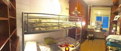 Suitable bunk bedroom in a homely flat, near Universitat Politècnica de Catalunya  - Gallery -  1