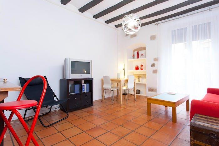 Very posh 1-bedroom apartment close to the Sant Antoni metro  - Gallery -  3
