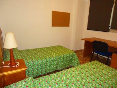 Twin bedroom in a 3-bedroom apartment  - Gallery -  2