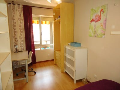 Tasteful single bedroom in a student flat, in Ciudad Jardin  - Gallery -  2