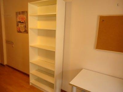 Tasteful single bedroom in a student flat, in Ciudad Jardin  - Gallery -  3