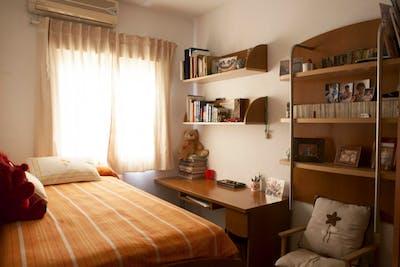 Suitable single bedroom in a 3-bedroom flat, in La Negrilla  - Gallery -  1