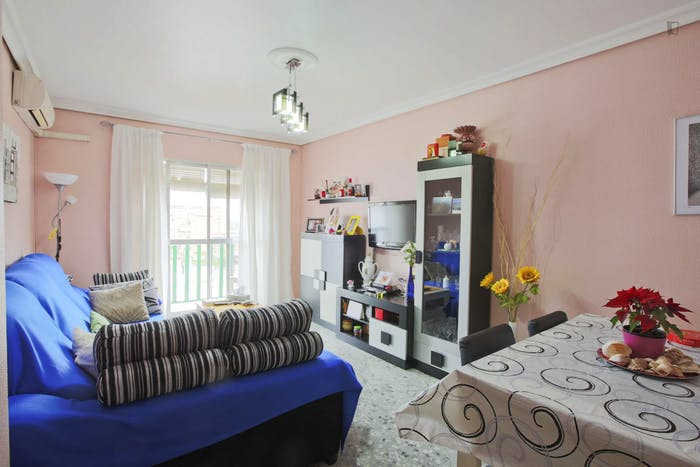 Very cool single bedroom near the Cocheras metro  - Gallery -  5