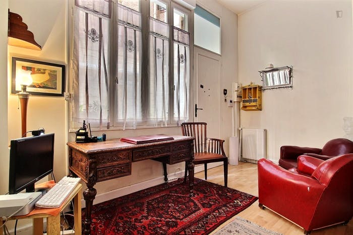 Wonderful 1-bedroom apartment in Paris near Gare de Neuilly subway station  - Gallery -  8