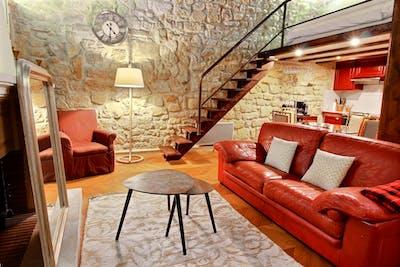 Very nice 1-bedroom apartment in Île Saint-Louis  - Gallery -  3