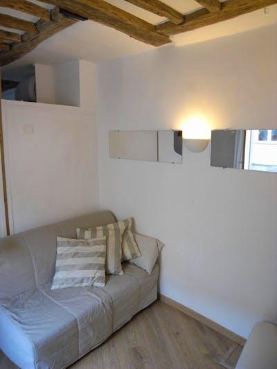 Very nice 1-bedroom apartment in 4e - Hôtel de Ville  - Gallery -  1