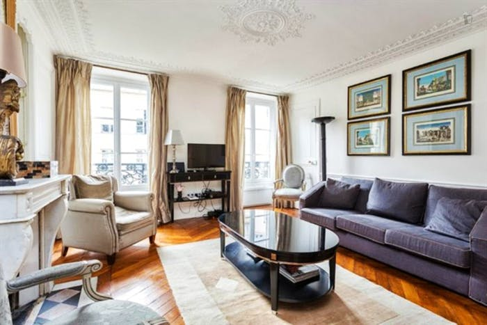 Wonderful 2-bedroom apartment in Marais  - Gallery -  1