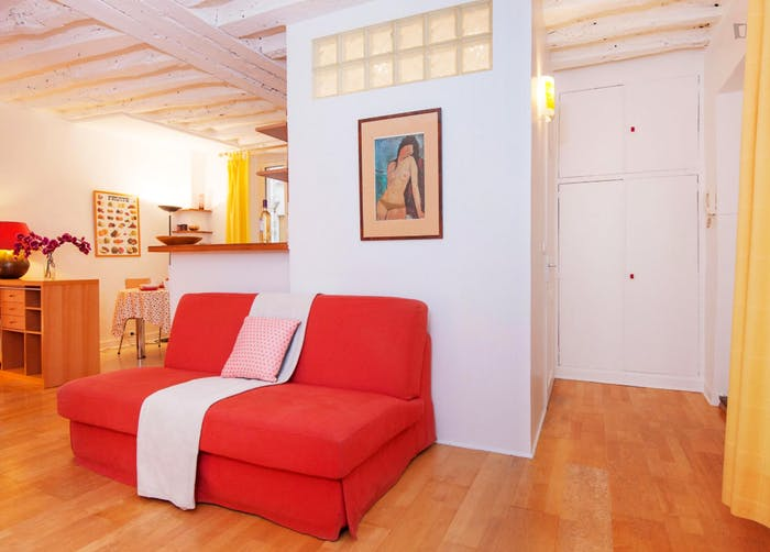 Very charming studio near the Étienne Marcel metro  - Gallery -  2