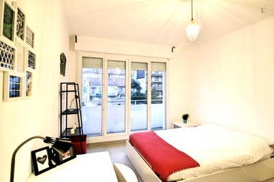 Nice double bedroom close to La Blancarde metro station