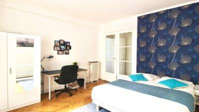 Tasteful double bedroom near Exelmans metro  - Gallery -  3