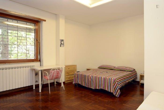 Very nice double bedroom near Riserva Naturale del Laurentino Acqua Acetosa  - Gallery -  1