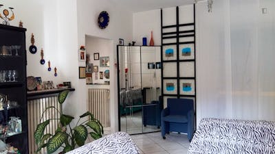 Very nice double bedroom, in a 3-bedroom flat near Museo d'Arte Moderna di Bologna  - Gallery -  3