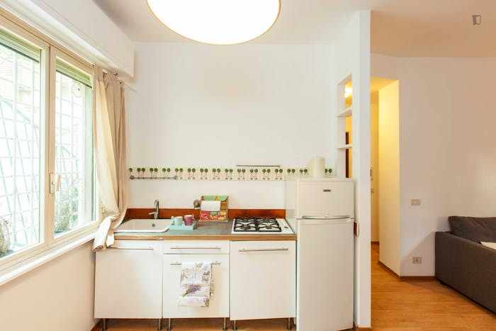 Very cool 1-bedroom flat close to S.Agnese/Annibaliano metro station  - Gallery -  3