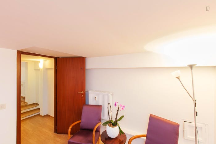 Very cool 1-bedroom flat close to S.Agnese/Annibaliano metro station  - Gallery -  8