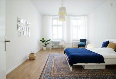 Welcoming spacious room in 3-bedroom flat near U Heinrich-Heine-Strasse metro  - Gallery -  1