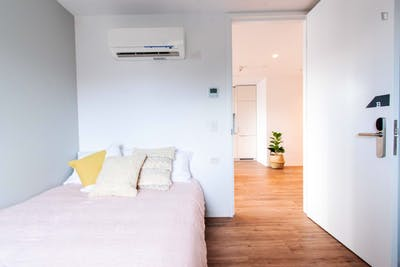 Sunny single-bedroom in a 2-bedroom apartment in a residence in Melbourne, near Melbourne University  - Gallery -  1