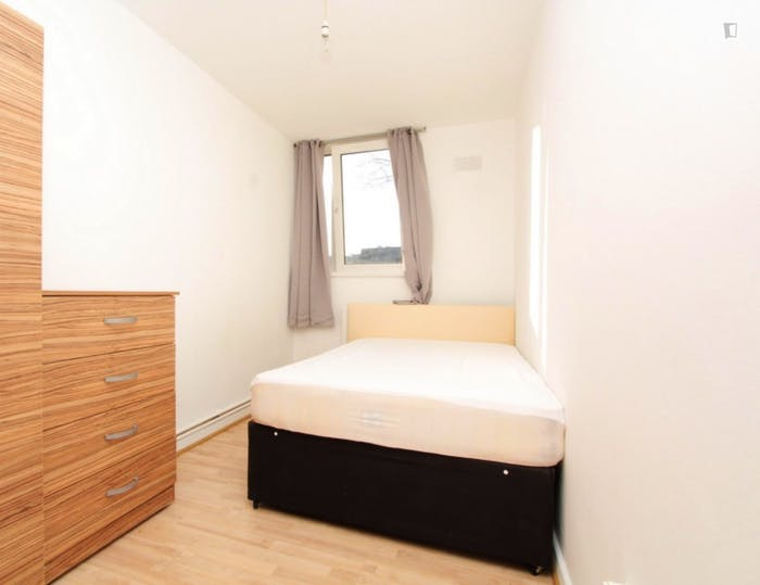 Well-lit double bedroom in Dalston  - Gallery -  1