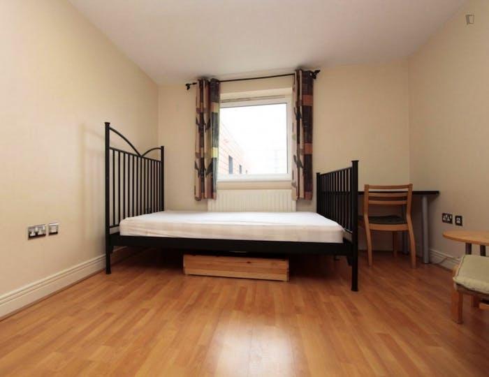 Well-lit double ensuite bedroom in Silvertown  - Gallery -  5