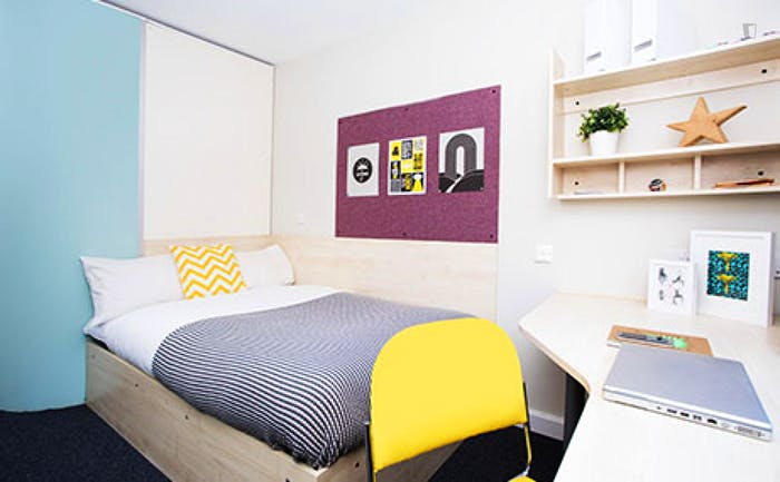 Welcoming studio in a residence, near the Stepney Green tube  - Gallery -  2