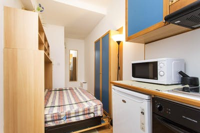 Studio with shared bathroom in Earl's Court  - Gallery -  2