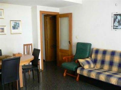 Student-friendly single bedroom, in a 4-bedroom flat in Benimaclet  - Gallery -  3