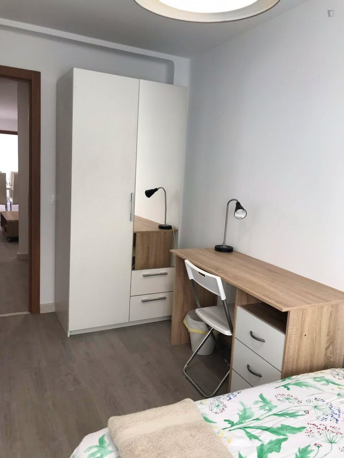 Very neat double bedroom in Benimaclet  - Gallery -  2