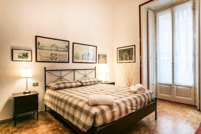 Super elegant 1-bedroom flat in Policlinico  - Gallery -  1