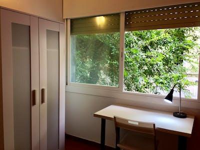 Suitable single bedroom in a 3-bedroom apartment in Vila de Gràcia  - Gallery -  1