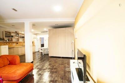 Suitable single bedroom in 3-bedroom flat, near Universidad Politécnica de Madrid - Campus de Montegancedo  - Gallery -  1