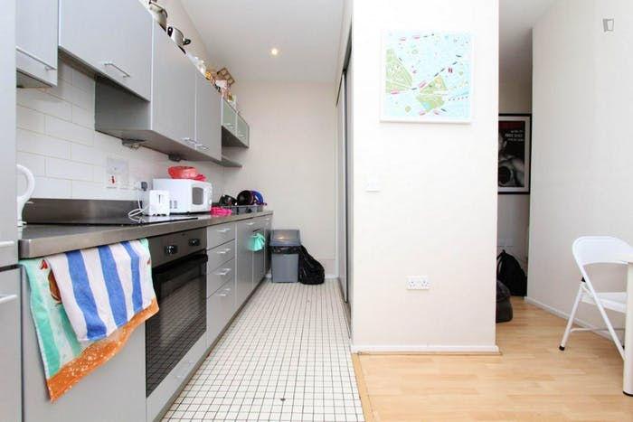 Well-lit double bedroom in North Woolwich  - Gallery -  6