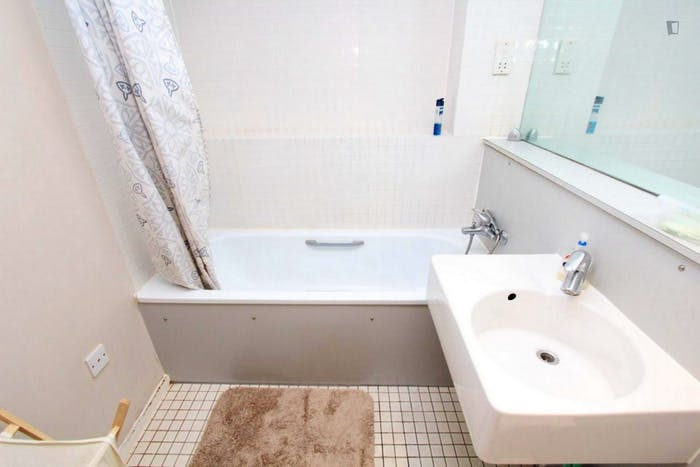 Well-lit double bedroom in North Woolwich  - Gallery -  8