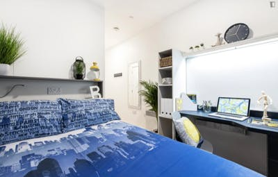 Amazing studio, in a residence near Bournemouth train station