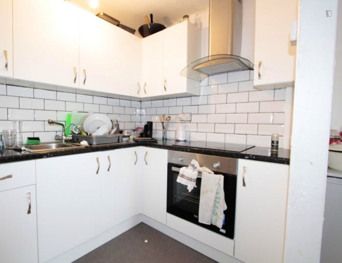 Well-features double bedroom in a 5-bedroom flat  - Gallery -  5
