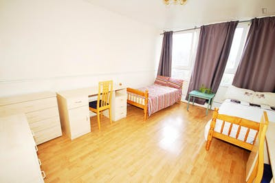 Twin bedroom close to Gospel Oak Overground Station  - Gallery -  3