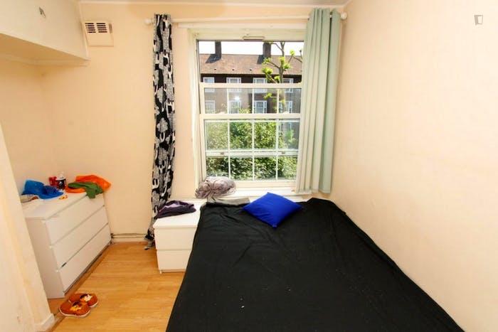 Unique double bedroom in a 3-bedroom flat in Newington  - Gallery -  4