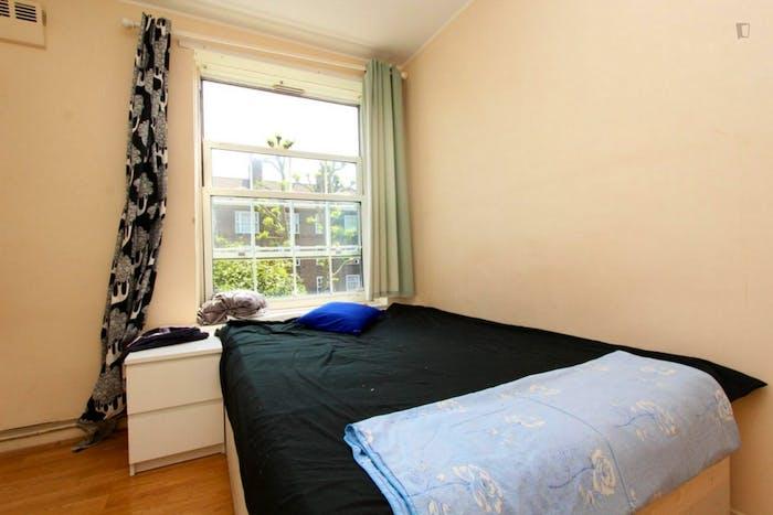 Unique double bedroom in a 3-bedroom flat in Newington  - Gallery -  3
