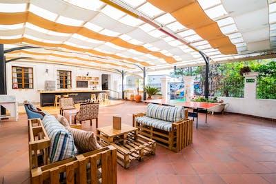 Colorful Colonial House w/ Garden Deck + Bar
