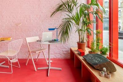 Unique Modern Studio w/ Coworking + Terrace  - Gallery -  1