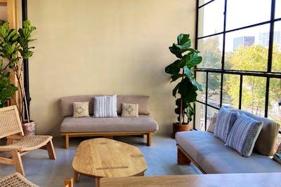 Elegant Styled House w/ Workspace + Lounge Areas