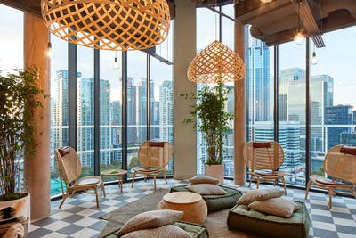 Upscale High-Rise Studio. w/ Coworking + Spa + Rooftop Pool  - Gallery -  1