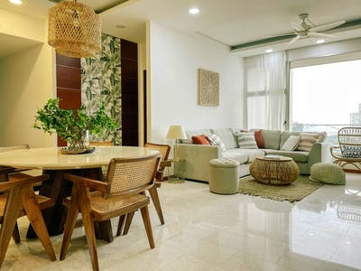 Well Lit Boho Style Apt. - Incl. Pool + Gym  - Gallery -  1