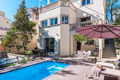 Beach Relaxed House - Incl. Coworking + Pool