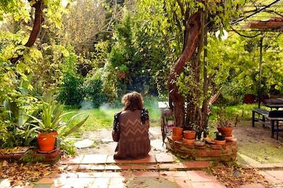 Classic Catalan Farmhouse w/ Communal Studio + Garden