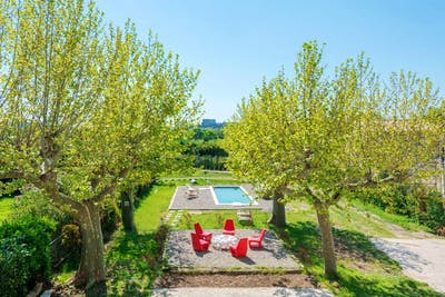 Sunny Farmhouse Overlooking the Alpilles Provence w/ Pool  - Gallery -  1