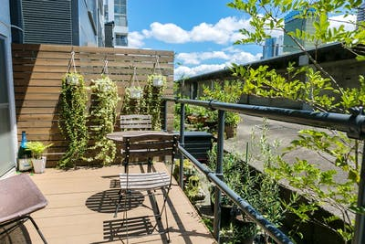 Cozy Coliving and Sun-filled Coworking w/ Terrace View over Sumida River