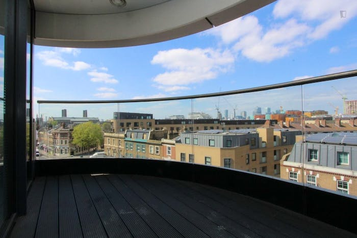 Unique double bedroom, with private balcony, in trendy Greenwich  - Gallery -  6