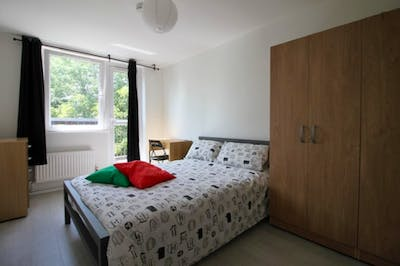 Warm and cosy double bedroom in Bromley-by-Bow  - Gallery -  1